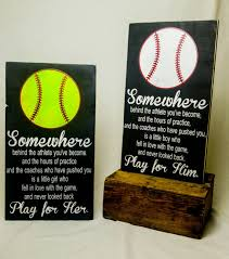 softball bedroom ideas play for her softball bedroom decor wooden sign player gift