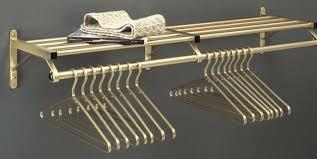 glaro satin brass wall coat racks and coat hangers