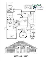 Dual Master Bedrooms Latitudes 28 Dual Master Bedroom With Cabana Bath Vanwal Homes