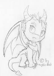 dragon sketch by mystic blat on deviantart