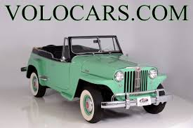 custom willys jeepster 1949 willys jeepster volo auto museum