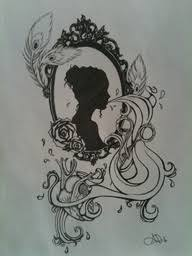 25 beautiful cameo frame tattoos ideas on pinterest framed