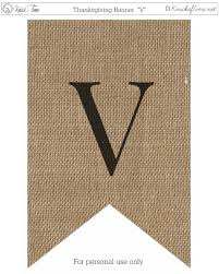 burlap thanksgiving banner rustic burlap banner letters knick of time