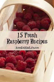 raspberry recipes 15 fresh raspberry recipes jpg