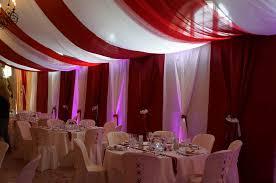 tenture plafond mariage decoration de salle de mariage plafond meilleure source d