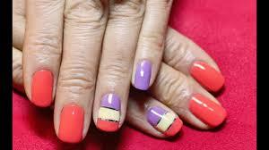 striping tape nail art nail design con nastro adesivo smalto