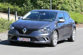 renault megane rs development mule spied pictures new renault