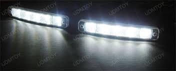 led driving lights automotive euro brabus style led daytime running lights for infiniti g35