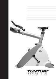 tunturi bicycle t8 user guide manualsonline com