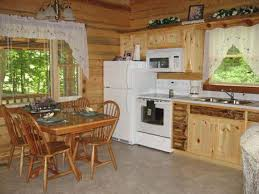for example if a log cabin uses upscale natural materials such