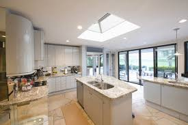 kitchen awesome skylight over kitchen island with brown wooden