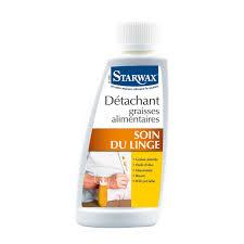 détachant tissu canapé détachant graisses alimentaires starwax produits d entretien maison