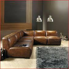 canap cuir vieilli marron canap cuir marron great canape cuir havane canap vintage places en