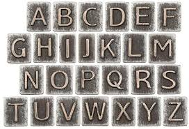 metal letters metal letters stock photo image of iron element font 34850840