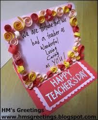 the 25 best handmade teachers day cards ideas on