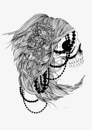 imagen blanco y negro en illustrator blanco y negro cabeza craneo craneo illustrator blanco y negro