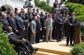 the super bowl champion baltimore ravens visit the white house