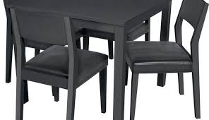 Black White Dining Table Chairs Square Dining Tables Chairs Sets Furniture Choice Inside Black
