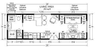 tiny house floor plans 32 u0027 tiny home on wheels design