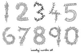 wedding table number fonts diy rustic wedding table numbers eat drink chic