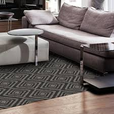 Non Slip Rug Pads For Laminate Floors Washable Rug Nonslip Pad Diamond Black 5 U0027 X 7 U0027 Ruggable