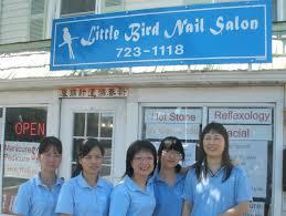 little bird nail salon home