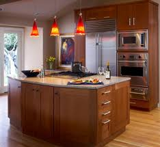 hanging pendant lights kitchen island lighting bright pendant lights offer a contrast to this