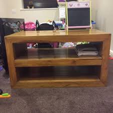 mahogany coffee table with drawers coffee table solid mahogany coffee table or tv unit in lancing west
