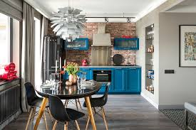 are blue cabinets trendy 50 trendy and timeless kitchens with beautiful brick walls