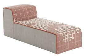 chaise pot b b bandas sofa l 155 cm pink by gan
