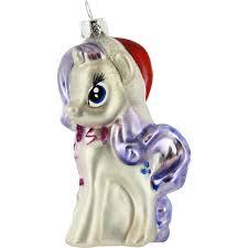 pony glass ornament