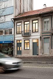 old building transformed into small studio apartments in porto