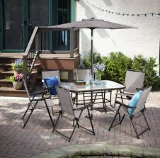 Patio Furniture Syracuse Ny by Fingerhut Alcove Edgewater 8 Pc Outdoor Dining Set