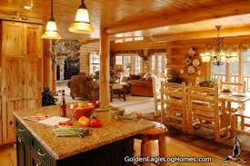 golden eagle log and timber homes design ideas log home kitchens