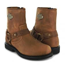 brown motorcycle boots harley davidson scout d95263 biker ankle boot brown fashion boots