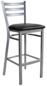 Ladder Back Bar Stool Asf 10427 Bs 3 Slat Metal Ladder Back Bar Stool