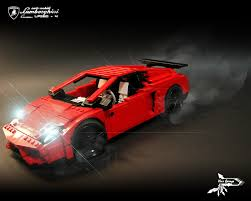 lamborghini lego lamborghini gallardo lp560 4 custom a lego creation by law hon