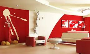 red interior colors adding passion and energy to modern interior