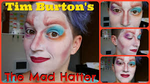halloween series easy mad hatter makeup tutorial youtube