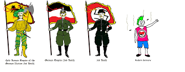 The Germany Flag Modern Germany 4chan Flag Bearers Know Your Meme