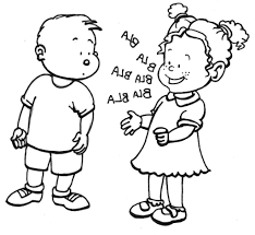 free coloring pages children talking coloring child