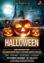 join us for halloween movie night u0026 costume contest for kids