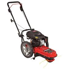 earthquake fields edge m200 173cc gas walk behind string trimmer
