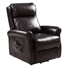 Lift Chair Recliner Giantex Brown Recliner Power Lift Chair Living Room Furniture With