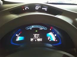 nissan leaf spare tire nissan leaf a great ride but a fair weather friend
