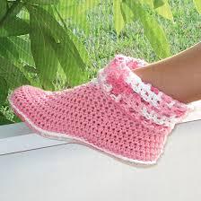 womens slipper boots size 12 free crochet slipper patterns crochet pattern slippers cuffed