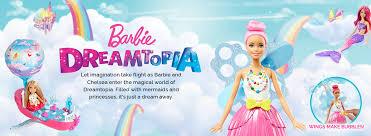 barbie dreamtopia dolls princess mermaid u0026 fairy dolls mattel