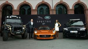 land rover spectre jaguar land rover showed off the spectre stars in frankfurt
