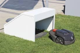 design garagen design garage mit rolltor für automower 105 305 308 ideal