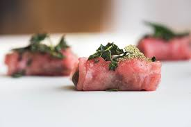 beef canape recipes beef carpaccio canapé recipe great chefs